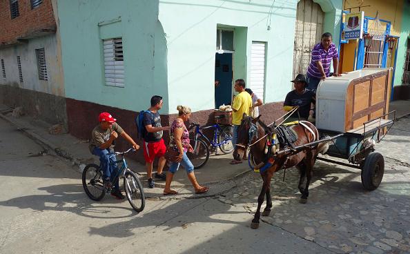 City Life「Horse-Drawn Cart, Trinidad, Cuba」:写真・画像(14)[壁紙.com]