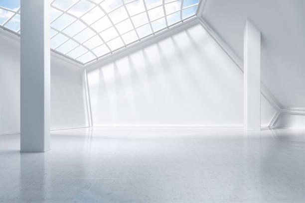 white museum digitally generated.:スマホ壁紙(壁紙.com)