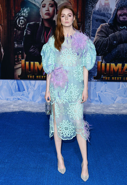 "Middle Hair Part「Premiere Of Sony Pictures' ""Jumanji: The Next Level"" - Arrivals」:写真・画像(17)[壁紙.com]"