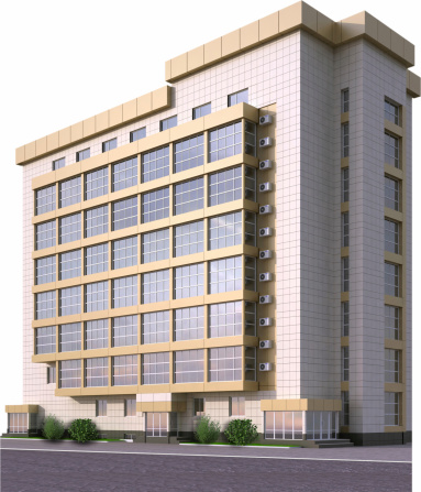 Housing Project「Large office building with glass windows」:スマホ壁紙(4)