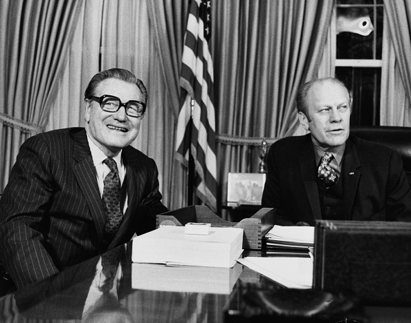 Consolidated News Pictures「Nelson Rockefeller And Gerald Ford」:写真・画像(16)[壁紙.com]