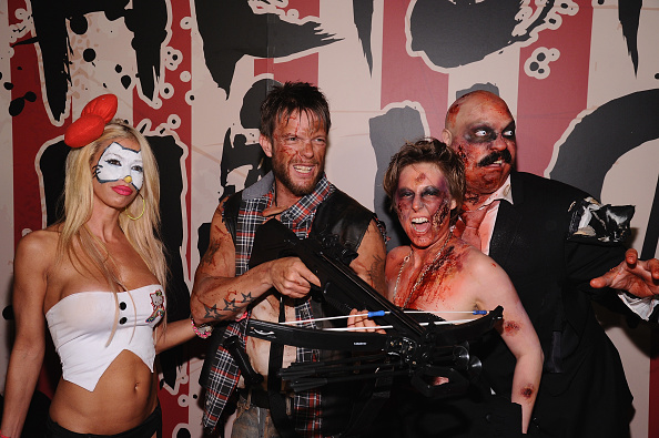 Jamie McCarthy「Moto X Presents Heidi Klum's 15th Annual Halloween Party Sponsored By SVEDKA Vodka At TAO Downtown - Arrivals」:写真・画像(15)[壁紙.com]