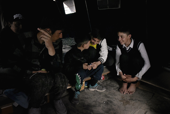 Calais「Migrant Children Wait For Possible Decision On Their Future In The UK」:写真・画像(0)[壁紙.com]