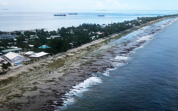 Sea「Life In Tuvalu - Pacific Island Striving To Mitigate Climate Change Effects」:写真・画像(15)[壁紙.com]