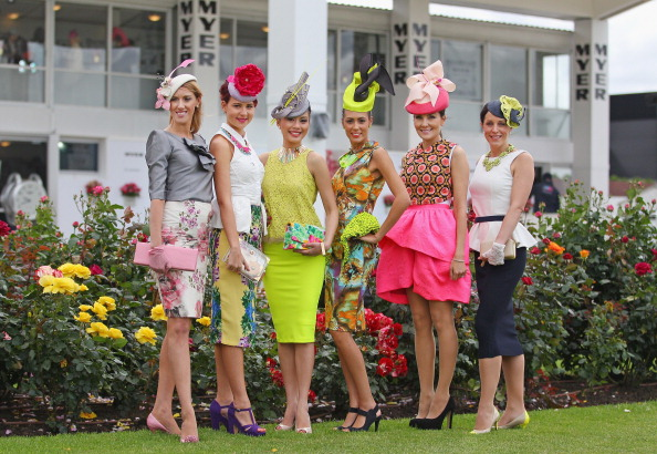Melbourne Cup Carnival「2012 Melbourne Cup Carnival: Myer Fashions On The Field Enclosure Launch」:写真・画像(15)[壁紙.com]
