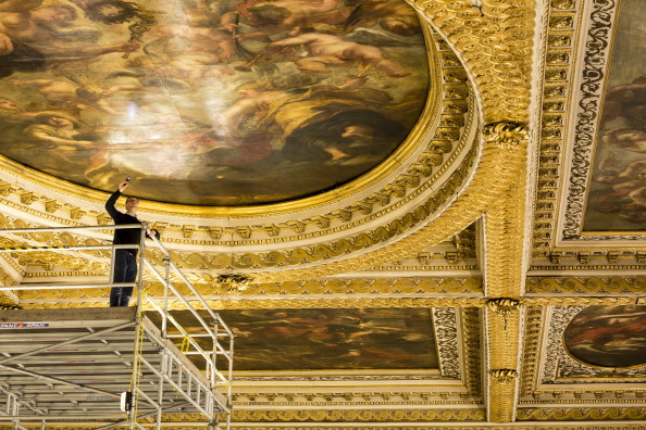 Bad Condition「Restoration Of Rubens' Painted Ceiling At Banqueting House」:写真・画像(17)[壁紙.com]