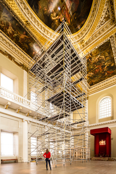 Bad Condition「Restoration Of Rubens' Painted Ceiling At Banqueting House」:写真・画像(18)[壁紙.com]
