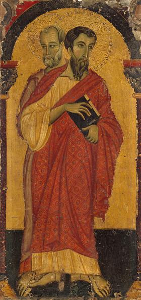 Tempera Painting「Saints Bartholomew And Simon」:写真・画像(19)[壁紙.com]
