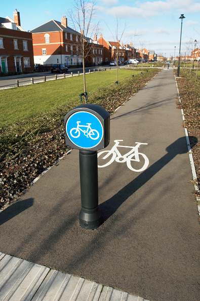No People「Cycling Path in Ravenswood Estate, Ipswich, UK」:写真・画像(3)[壁紙.com]