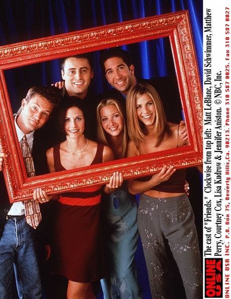 Television Show「Cast of Friends」:写真・画像(3)[壁紙.com]