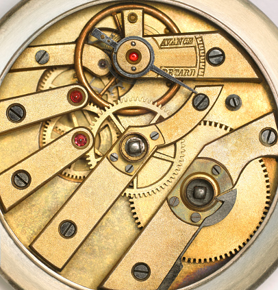 Watch - Timepiece「Internal Mechanism Of Edwardian Pocket Watch」:スマホ壁紙(8)
