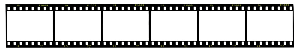 Camera Film「Strip of 35mm film, blank frames」:スマホ壁紙(16)