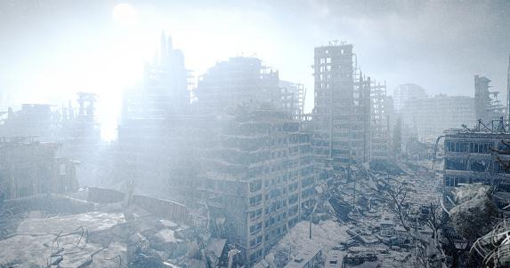Destruction「Nuclear Winter Urban Landscape」:スマホ壁紙(0)