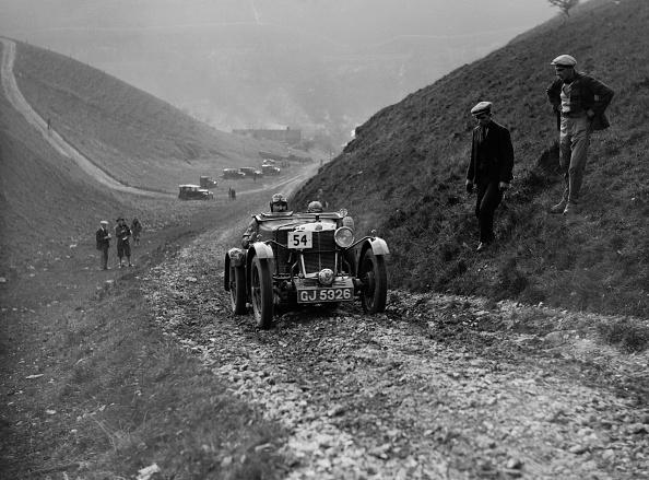 Dirt Road「MG M Le Mans of CHD Berton competing in the MCC Sporting Trial, Litton Slack, Derbyshire, 1930」:写真・画像(0)[壁紙.com]