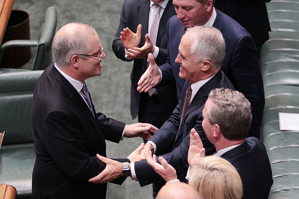 Politician「Australian Federal Budget Delivered In Canberra」:写真・画像(0)[壁紙.com]