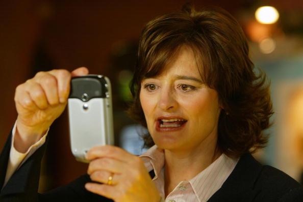 Conference Phone「Cherie Blair Tries a Phone Camera」:写真・画像(18)[壁紙.com]