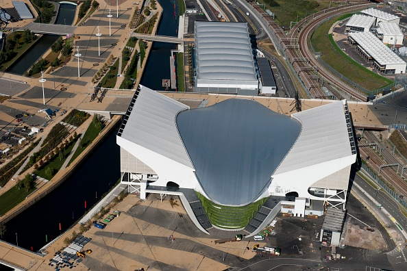 Outdoors「London Aquatics Centre And Water Polo Arena」:写真・画像(13)[壁紙.com]
