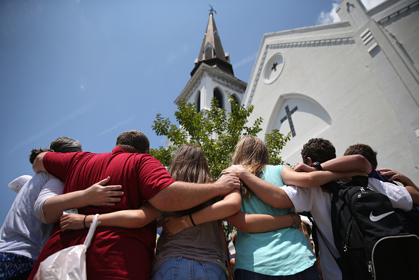 Emanuel AME Church - Charleston「Charleston Marks One Month Anniversary Of Church Shootings」:写真・画像(3)[壁紙.com]