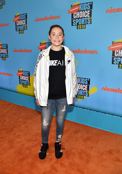 Hair Back「Nickelodeon Kids' Choice Sports 2019 - Red Carpet」:写真・画像(18)[壁紙.com]