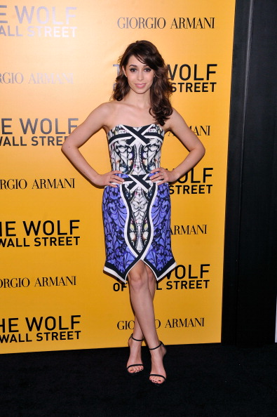 Strapless Dress「Giorgio Armani Presents: The Wolf Of Wall Street World Premiere」:写真・画像(16)[壁紙.com]