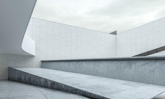 Art「Parking lot modern concrete background stage」:スマホ壁紙(11)