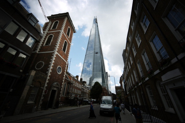 Shard London Bridge「The Shard, Europe's Largest Building Is Unveiled After Completion Of It's Exterior」:写真・画像(5)[壁紙.com]