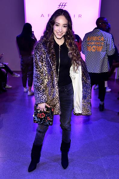 ニューヨークファッションウィーク「Afffair - Front Row - February 2019 - New York Fashion Week: The Shows」:写真・画像(14)[壁紙.com]