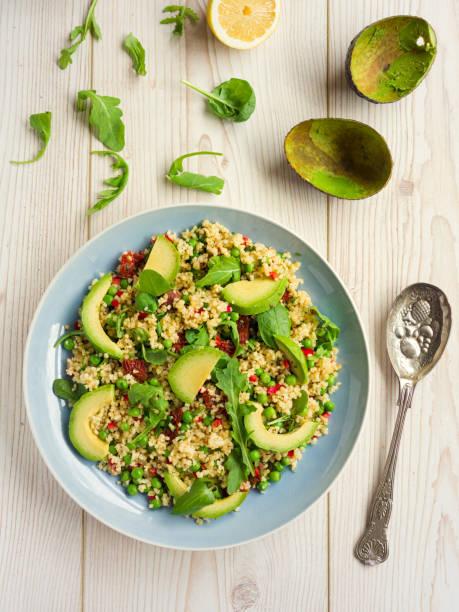 Healthy chilli bulgur salad:スマホ壁紙(壁紙.com)