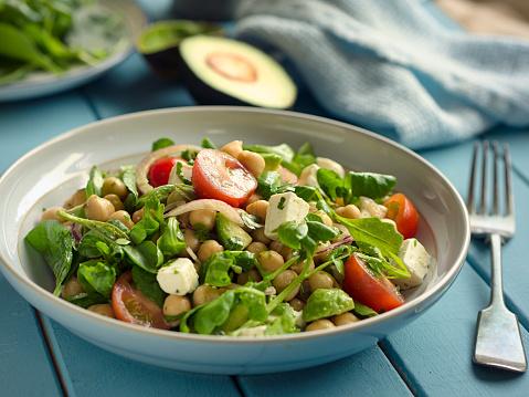 Salad「Healthy chickpea salad」:スマホ壁紙(7)