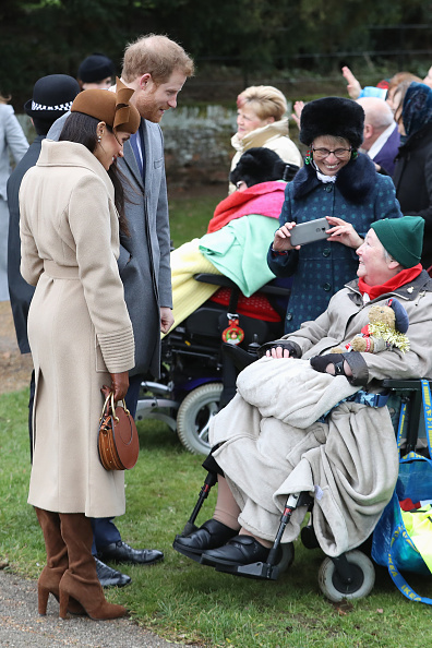 King's Lynn「Members Of The Royal Family Attend St Mary Magdalene Church In Sandringham」:写真・画像(5)[壁紙.com]