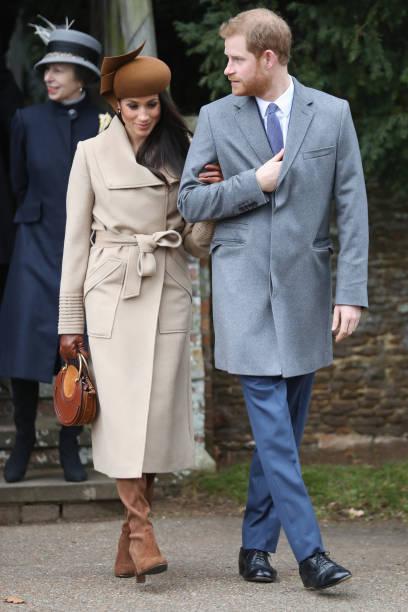 Members Of The Royal Family Attend St Mary Magdalene Church In Sandringham:ニュース(壁紙.com)