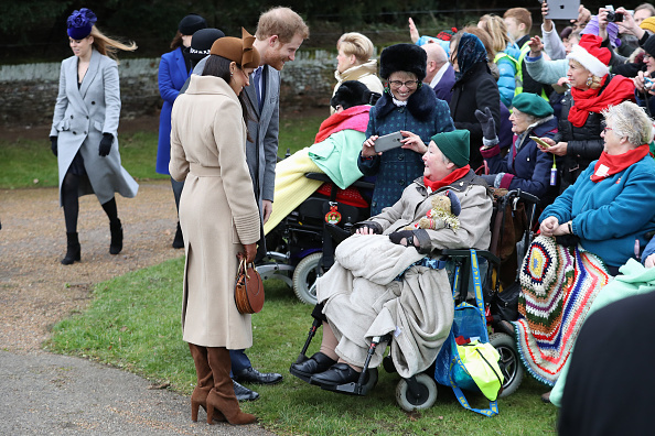 King's Lynn「Members Of The Royal Family Attend St Mary Magdalene Church In Sandringham」:写真・画像(13)[壁紙.com]