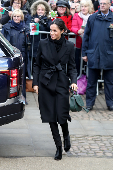 Cardiff - Wales「Prince Harry And Meghan Markle Visit Cardiff Castle」:写真・画像(7)[壁紙.com]