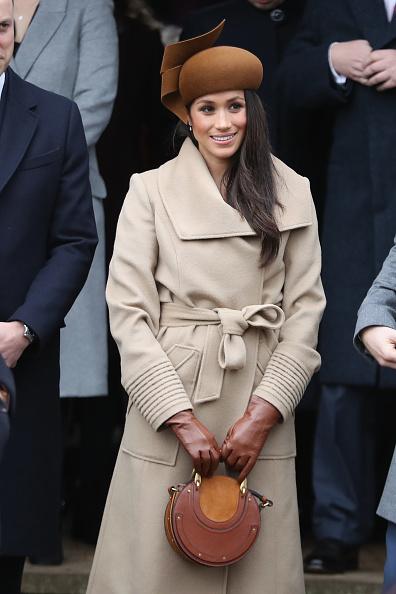 Coat - Garment「Members Of The Royal Family Attend St Mary Magdalene Church In Sandringham」:写真・画像(0)[壁紙.com]