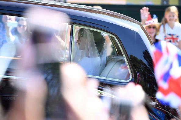 到着「Meghan Markle Arrives At Windsor Castle Ahead Of Her Wedding To Prince Harry」:写真・画像(15)[壁紙.com]