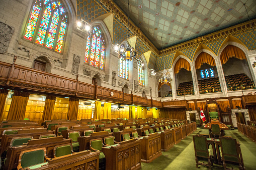 Politics「House of Commons in the Canadian Parliament Building」:スマホ壁紙(6)