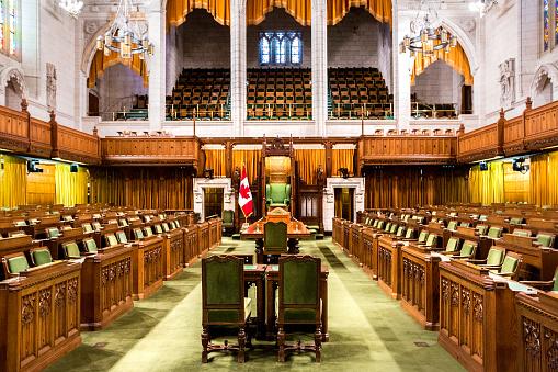 ウェストミンスター宮殿「下院 - カナダの議会の建物」:スマホ壁紙(9)