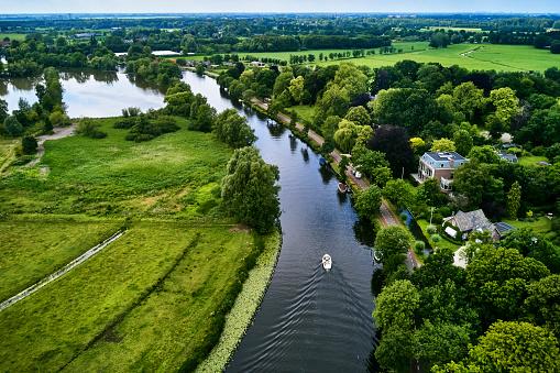 Utrecht「River Vecht, Utrecht Province, Netherlands」:スマホ壁紙(3)