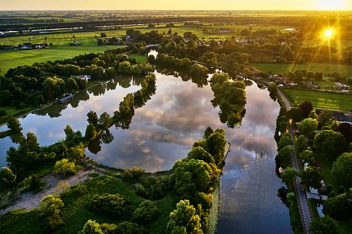 Utrecht「River Vecht, Utrecht Province, Netherlands」:スマホ壁紙(5)