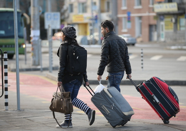 Suitcase「Every Day Life In Bulgaria As EU Leaders Mull Restrictions」:写真・画像(9)[壁紙.com]
