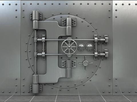 Vaulted Door「Closed safe in bank」:スマホ壁紙(16)