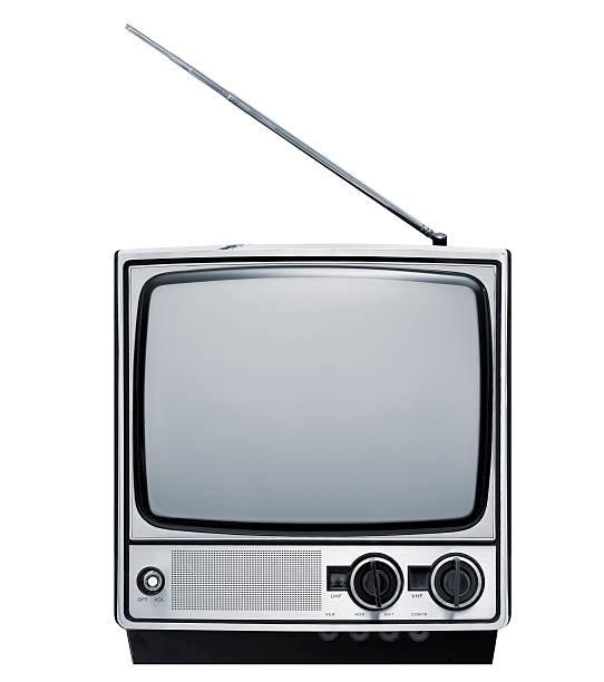 Front of old grey television:スマホ壁紙(壁紙.com)