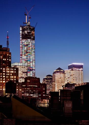 飾りつけ「One World Trade Center Construction」:スマホ壁紙(18)