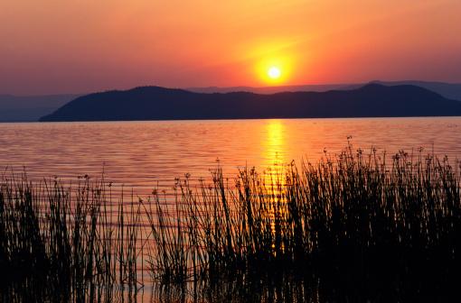Lake Baringo「Sunrise, Lake Baringo, Kenya」:スマホ壁紙(4)