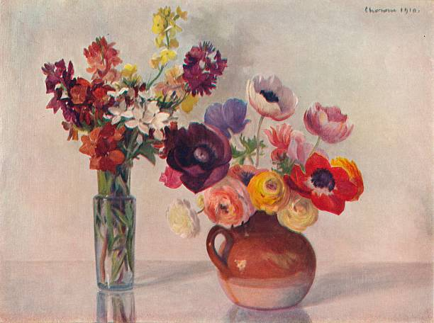 Anemones and Wallflowers, c1909:ニュース(壁紙.com)