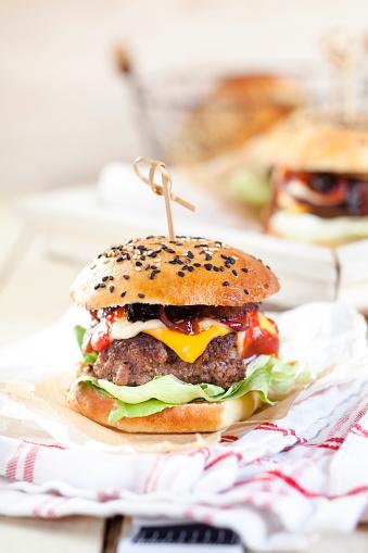 Hamburger「Homemade Cheeseburger」:スマホ壁紙(7)