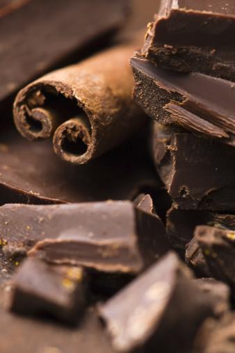 Milk Chocolate「Homemade chocolate with cinnamon」:スマホ壁紙(6)