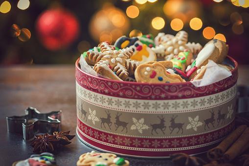 雪だるま「手製のクリスマスのジンジャーブレッドのクッキー」:スマホ壁紙(15)
