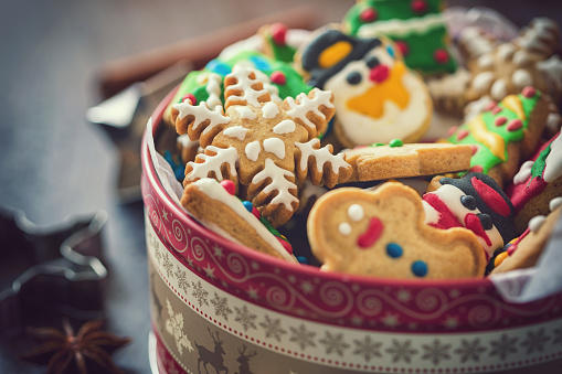 Christmas「Homemade Christmas Gingerbread Cookies」:スマホ壁紙(0)