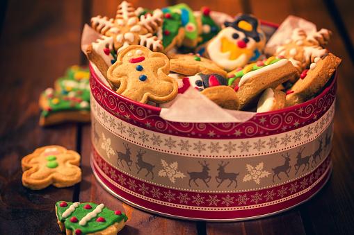 雪だるま「手製のクリスマスのジンジャーブレッドのクッキー」:スマホ壁紙(18)